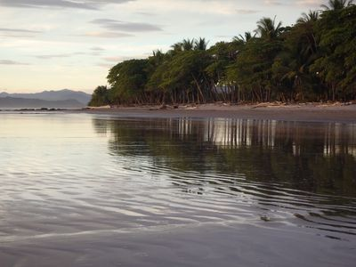 Playa Manzanillo just a short walk from the Villa