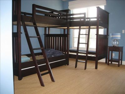 Bedroom 3 Bunk Beds w/ trundle