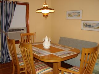 Cape Charles cottage photo - Dining Area