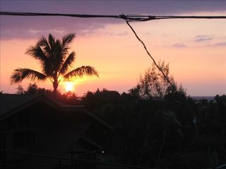 Sunset Beach house photo - Watch amazing sunsets from the lanai