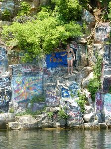 Cliff diving at the quarry anyone?