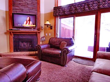 Copper Mountain condo rental - Welcome to Timber Creek 108 on ground floor with walkout to patio when snow is melted.
