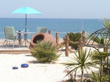 Polis & Latchi Area villa rental - In your garden and the beach at the same time!