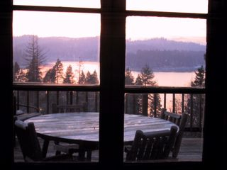 Lake Arrowhead cabin photo - sunrise