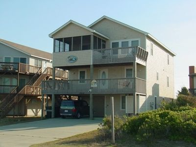 Fabulous Nags Head Beach House with Pool, Hot Tub, Game Room. Great Ocean View!