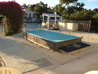 Key Colony Beach house photo - Mini spa jacuzzi type pool