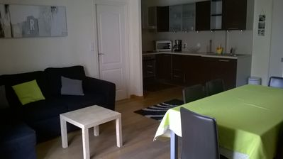 2 roomed apartment 48 m² 5 minutes walk from the beach at the foot of Cap d'Antibes