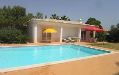 Charming Pool House beside large pool in Private Grounds