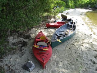 Yarmouth house photo - Canoe and Kayaks (provided)