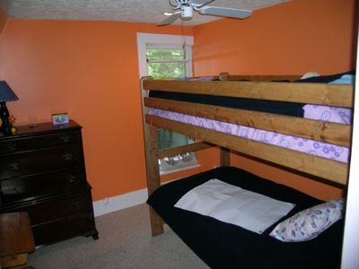 Northport cottage rental - Guest with Bunks