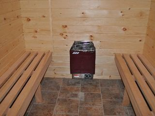 Wilmington chalet photo - Six Person Dry Sauna