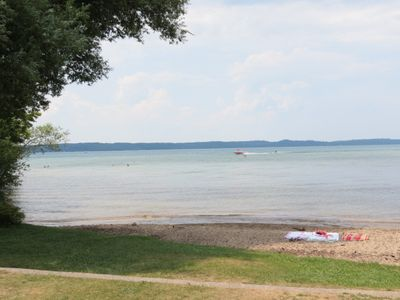 Public Beach by Marina, 5-minute walk from the home. Enjoy the shallow waters.