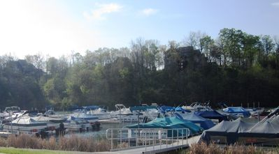 Galena house rental - Lake Galena Marina - rent fishing equipment or a boat