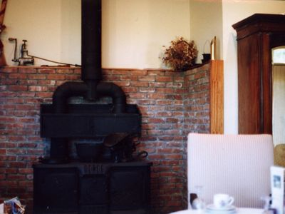 The Antique Suite featuring an 1886 stove