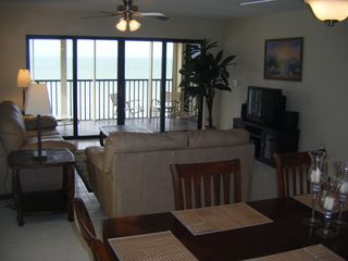 View from kitchen - Indian Rocks Beach condo vacation rental photo