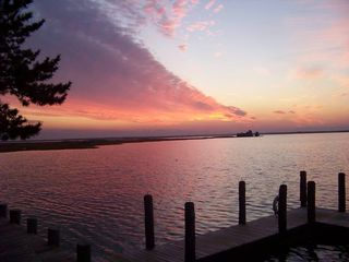 Stone Harbor townhome photo - Enjoy the sunset at the end of our street!