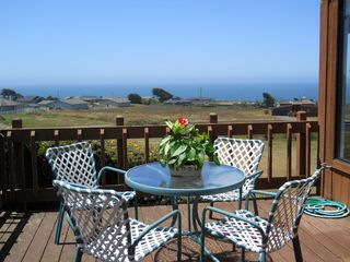 Bodega Bay house photo - Deck overlooking Pacific Ocean