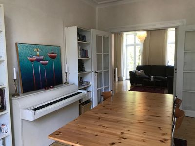Great location in fashionable Vesterbro / 100 sqm with 2 balconys.