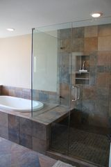 Canyon Lake house photo - Master Bath (whirlpool tub & 5 head spa shower system)