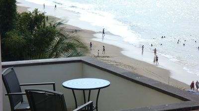 Beach View from Upper Balcony