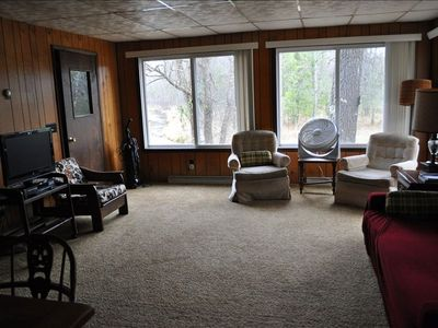 Main Living area, notice river thru window