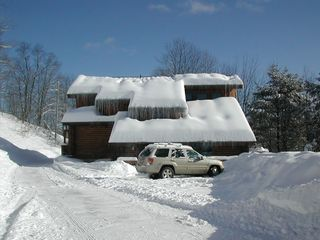 Quechee cabin photo - Winter View