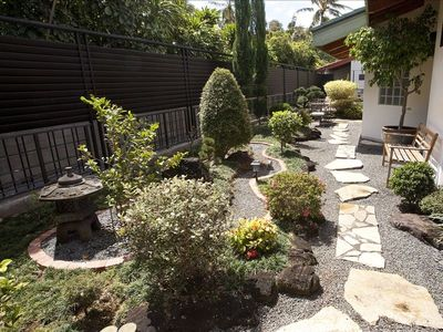 Asian Garden Entry and walkway