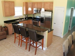 Thomas Drive Area house photo - KITCHEN - GRANITE COUNTERTOPS AND STAINLESS STEEL APPLIANCES