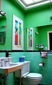 Georgetown townhome rental - Your main Bathroom!