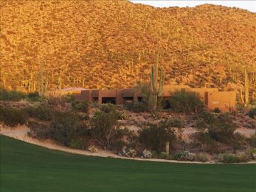 Marana house rental - Looking at the house from the 14th fairway.