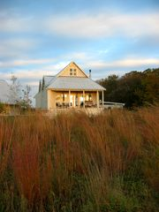 New Glarus house photo - The guest house and the prairie