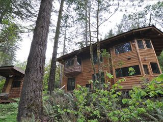 Coos Bay house photo - Artistically crafted sauna and home
