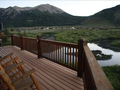 Deck includes Apres Ski Seating and Views
