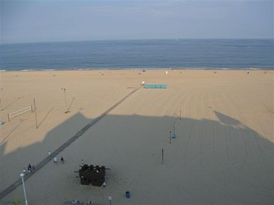 Belmont Towers Ocean City condo rental - Play Castle directly below 805 condo