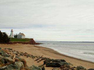 Panmure house photo - panmure island lighthouse and beach