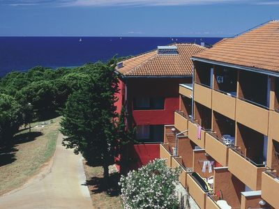 image for Apartment located on a large park with many facilities and right on the sea.