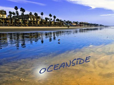 Oceanside has wide, sandy, beautiful beaches