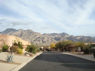 Tucson townhome photo - view from front of home