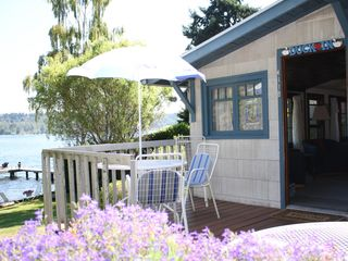 Mercer Island cottage photo - Perfect place to relax with a glass of wine after a day in Seattle.