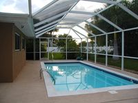 Southwest Cape Coral Home With Heated Pool.  Well Maintained