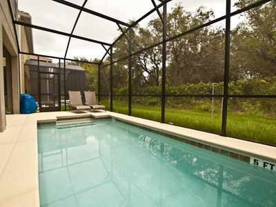 PRIVATE POOL, CONSERVATION VIEW