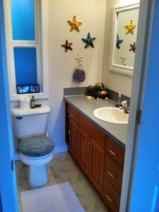 Master Bathroom with shower & tub