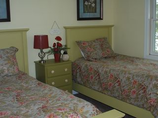Casco house photo - 4th bedroom w/2 twin beds & a great view of the lake!