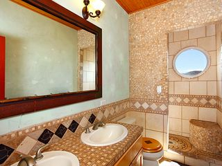 Lahaina house photo - Master bath with side by side sinks