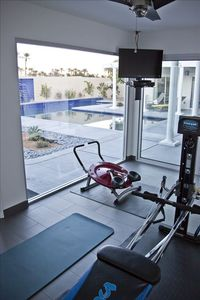 Indian Wells house rental - The gym, whether its aerobics or pilate's or just to watch others on the TV.