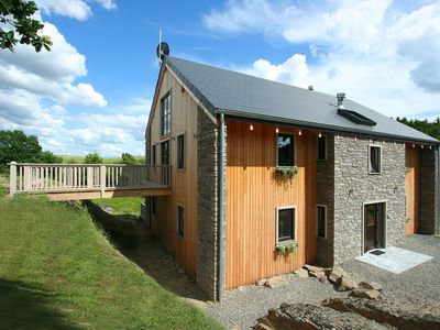 A beautiful, detached villa chalet with a sauna and jacuzzi