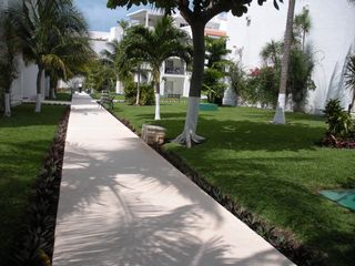 Cancun condo photo - One of the Garden Areas