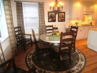 Wilmington house photo - Dining Area (with leaf and extra chairs can accomodate six)