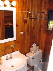 West Wardsboro house photo - Clean bathroom with updated fixtures - guest house