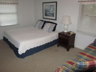 Isle of Palms house photo - 5th bedroom w/ King Bed with TV, DVD, couch